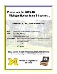 2015 Picnic Invitation
